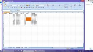 Seibold Serial Control Center Datalogger Screen